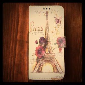 Phone/wallet case Samsung S8+  Paris/Eiffel Tower